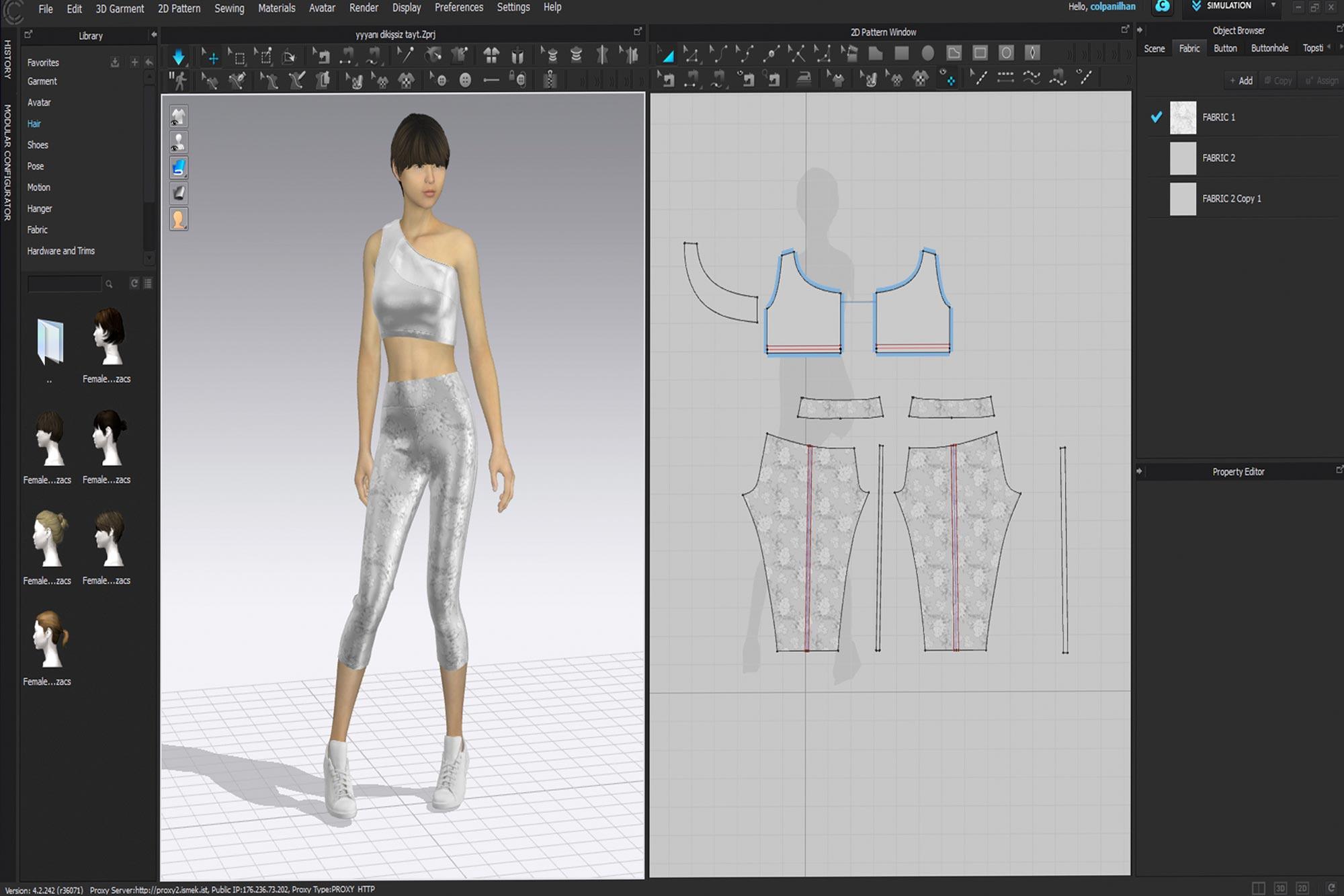 3 Boyutlu Moda Tasarımı(Clo3d, Adobe Photoshop, Adobe İllustrator)