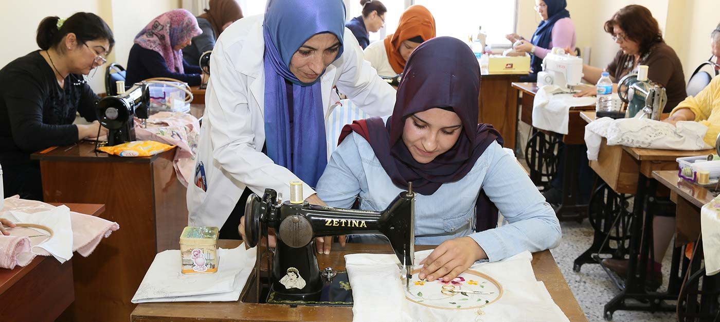 Makinede Geleneksel Türk İşlemeleri