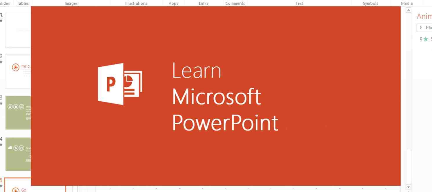 Powerpoint İle Sunum Hazırlama Teknikleri (12-16 Yaş Eğitimi)