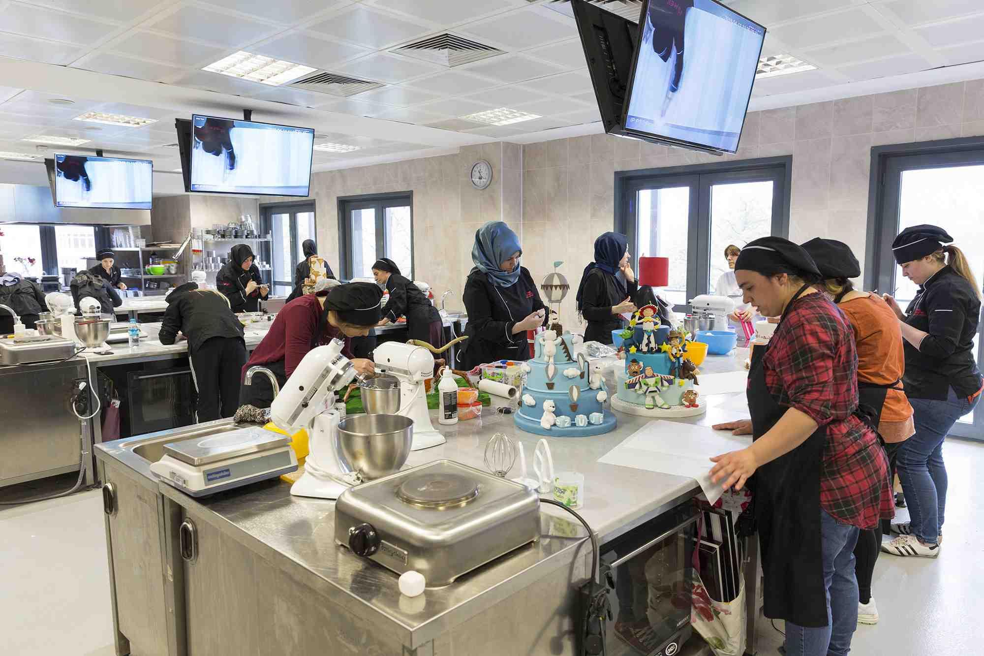 Profesyonel Pastacılık Eğitimleri/Konsept Maket Pasta Çeşitleri