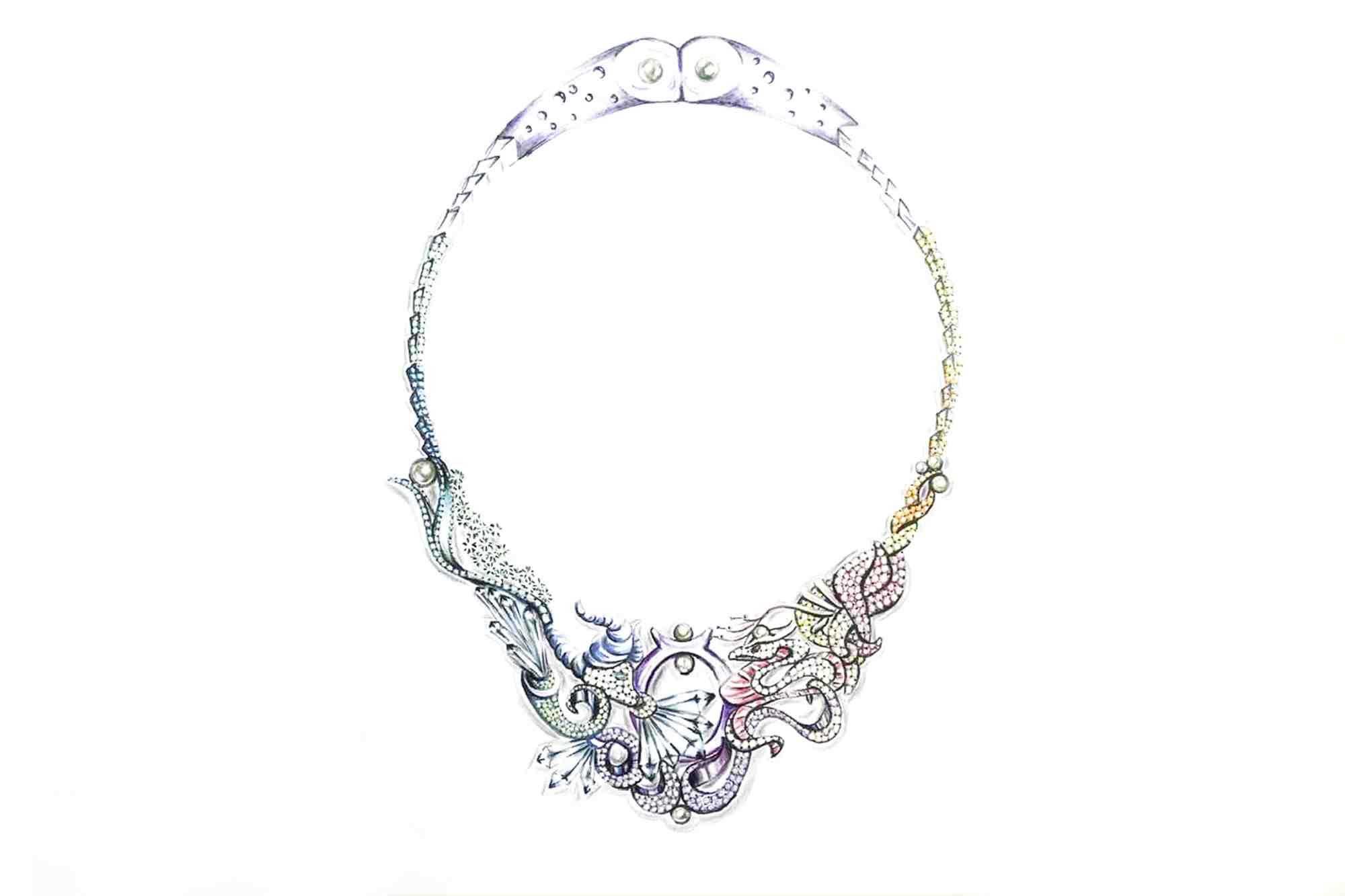 Mücevher ve Takı Tasarımı Çizim Teknikleri