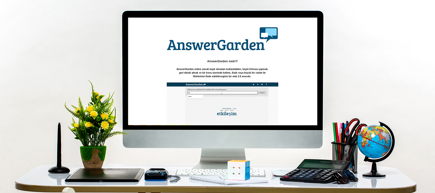 Çevrim İçi Geri Bildirim Uygulaması: AnswerGarden Kullanımı (Uzaktan Eğitim)
