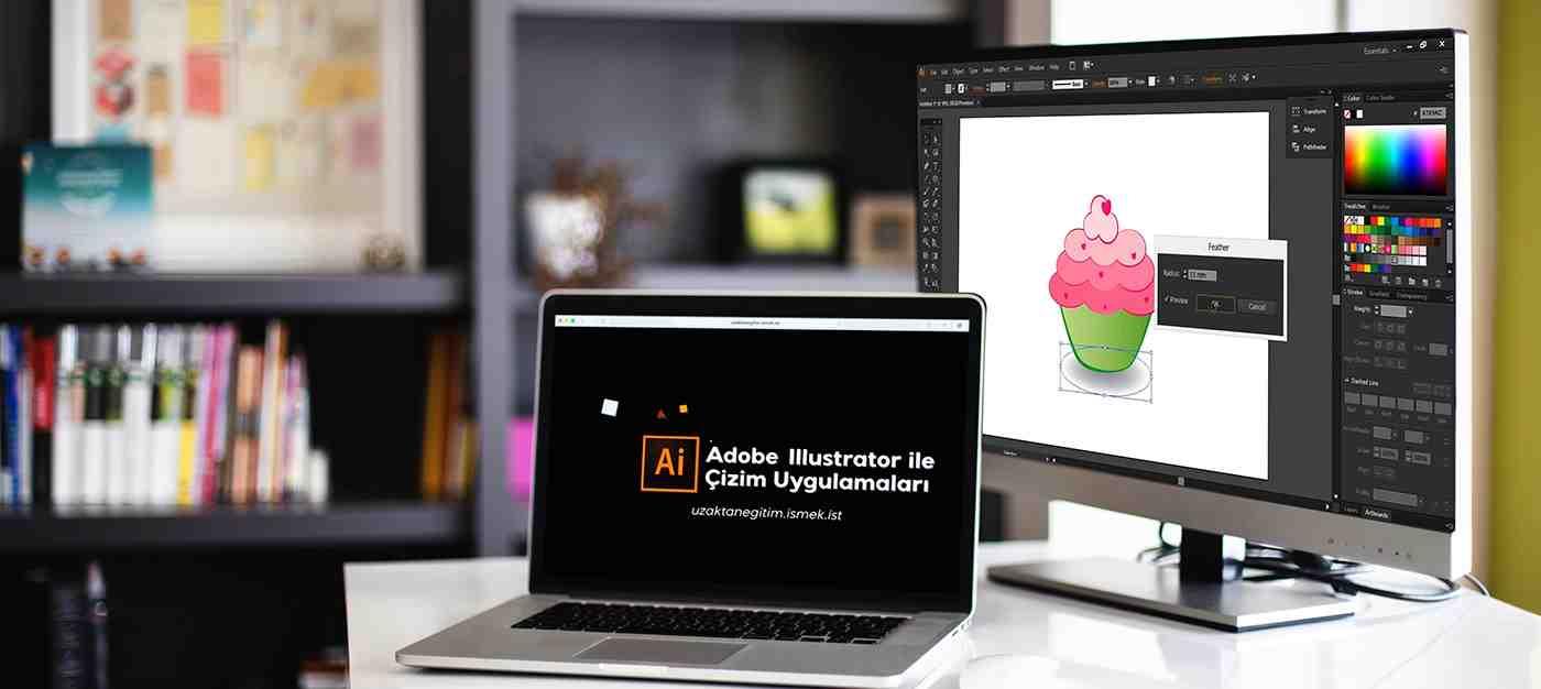 Adobe Illustrator Çizim Uygulamaları 1 (Uzaktan Eğitim)