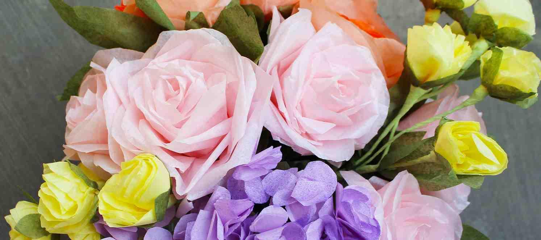 Dekoratif Çiçek Yapımı