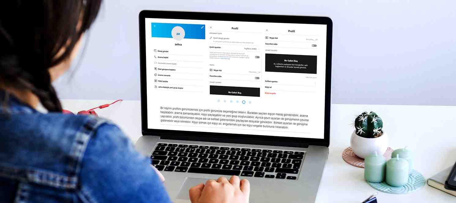 Çevrim İçi Toplantı Uygulaması: Skype Kullanımı (Uzaktan Eğitim)
