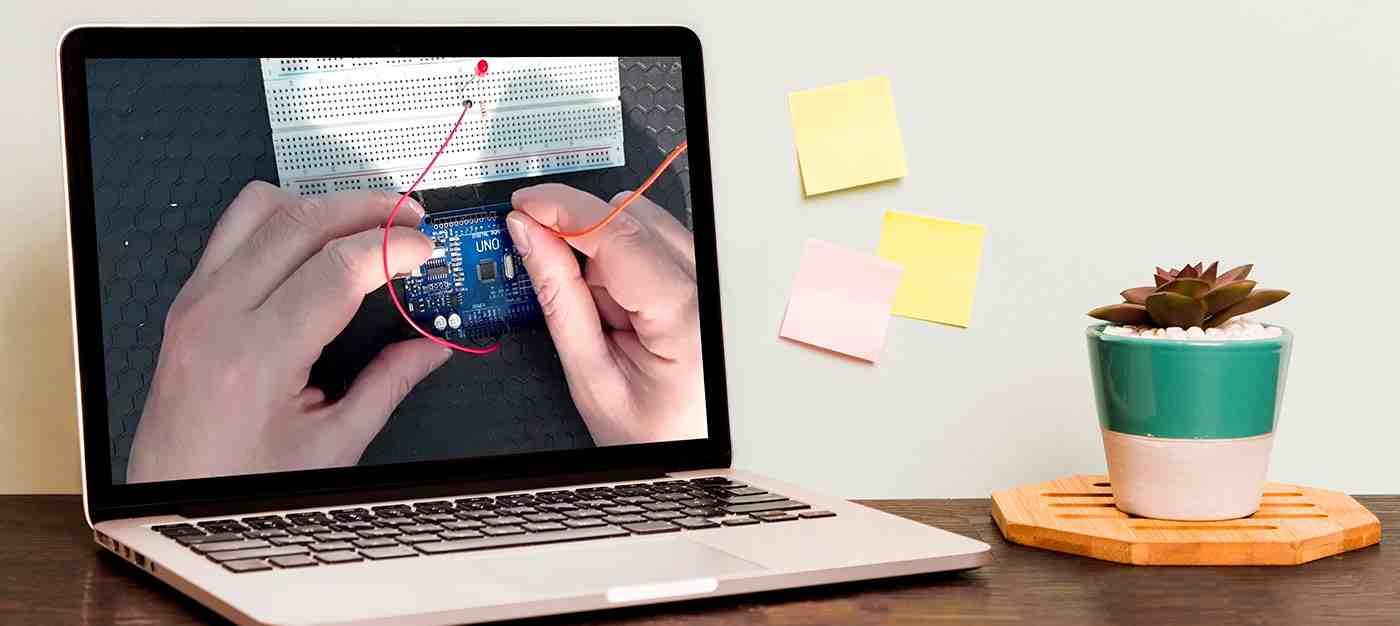 Projeler Eşliğinde Arduino ile Robotik Programlama - 1 (Uzaktan Eğitim)